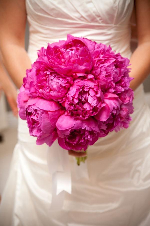 Photos De Bouquets De Pivoines Roses Fushia