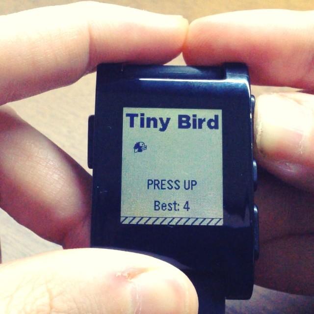 Tiny Bird El Clon De Flappybird Para El Reloj Pebble