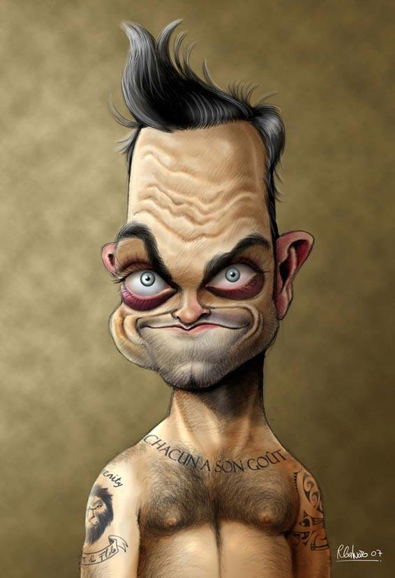 Robbie Williams Par Aareps