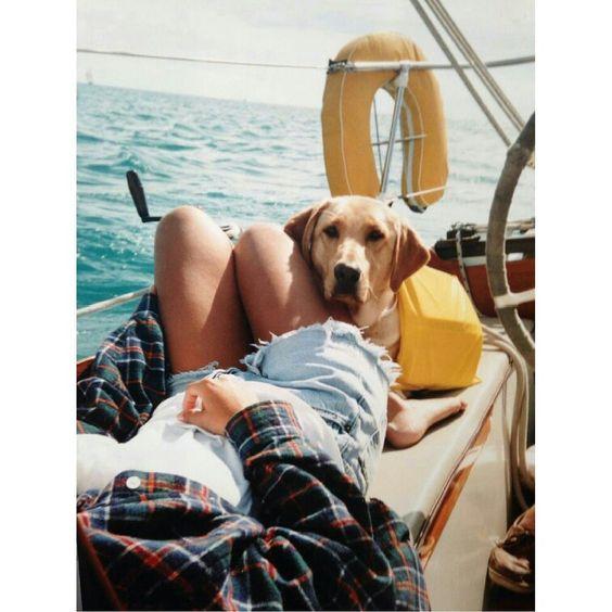 Yanpy Post 136 Sailing With Dog