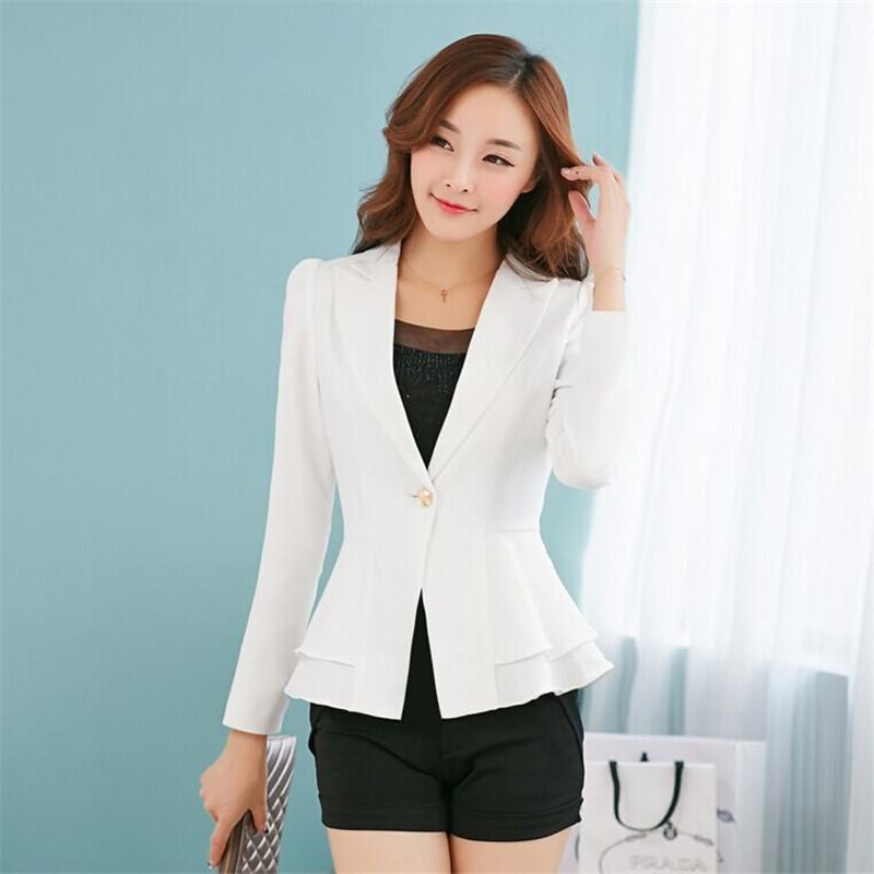 2015 Fashion Font B Women B Font Font B Blazers B Font And Jackets Long Sleeve