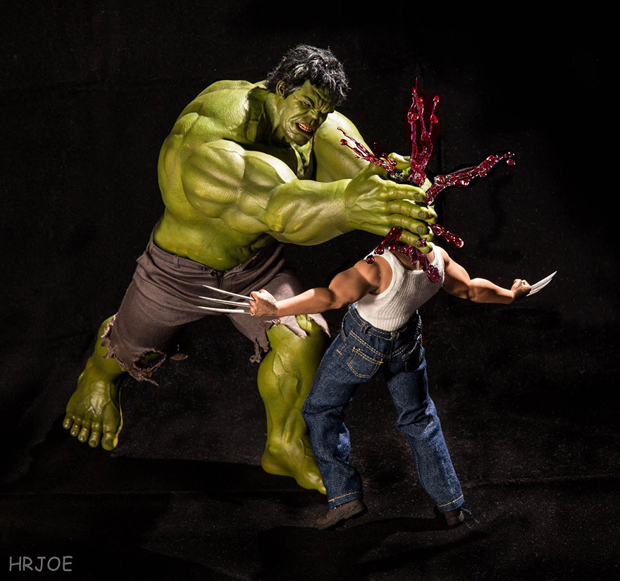 Superhero Action Figure Toys Photography Hrjoe 13