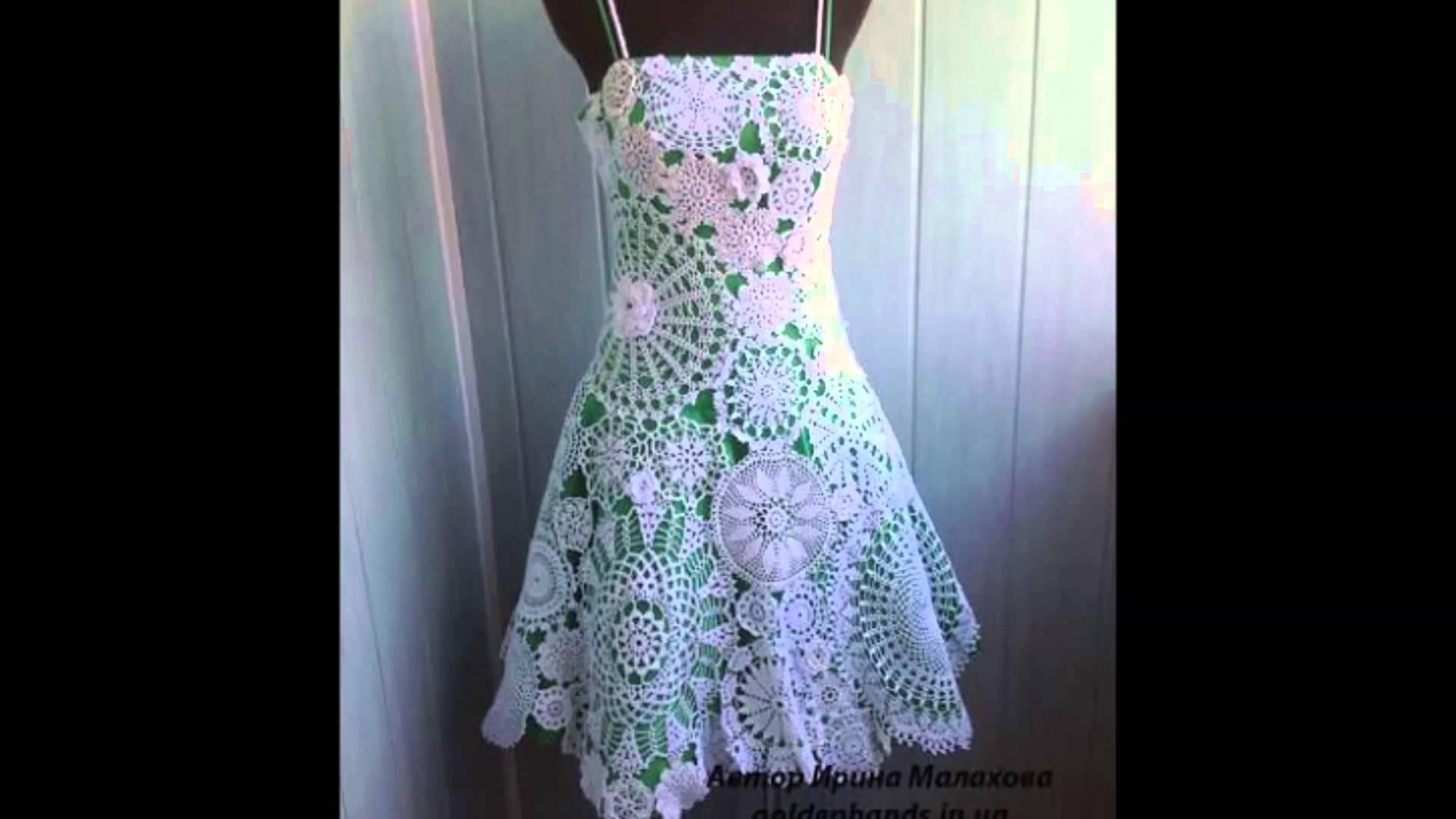 Como Hacer Un Vestido Tejido A Gancho Para Dama Sacar Cita