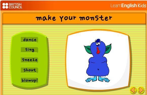 Pincha para crear tu monstruo