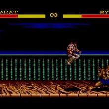 Street Fighter II en 8 bits de Sega