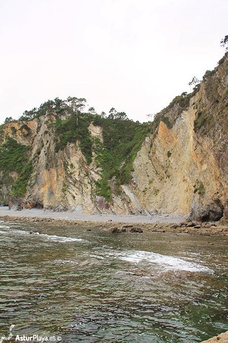El Castillon Beach Cudillero Asturias