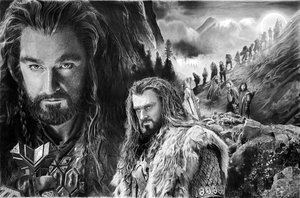 Thorin Oakenshield By Francoclun D5wotvr