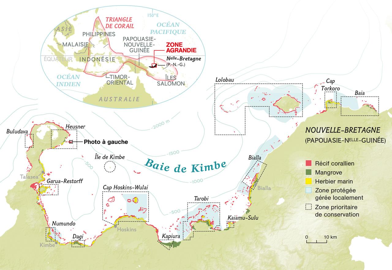Map Nouvelle Bretagne