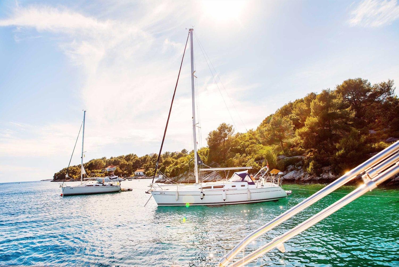 Yanpy Post 125 Sailing Routes Around Croatia Islands Central Dalmatia