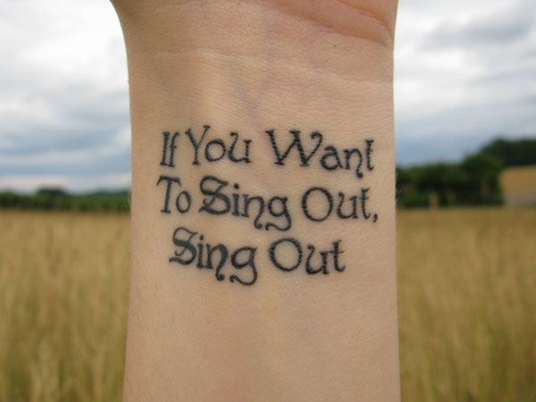 Cat Stevens, « If You Want To Sing Out, Sing Out »