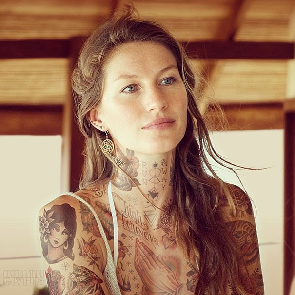 Celebrities Covered In Tattoos 9