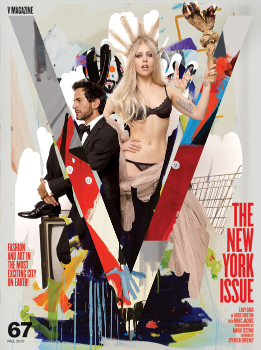 Lady Gaga Covers V Magazine Photo 012