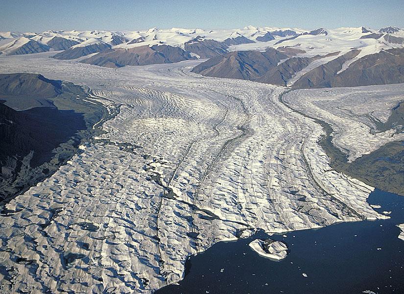 Glaciar Axel Heiberg. 48 km de largo