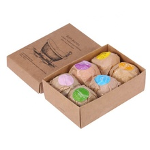 UV Eco-Friendly Custom Bath Bomb Boxes