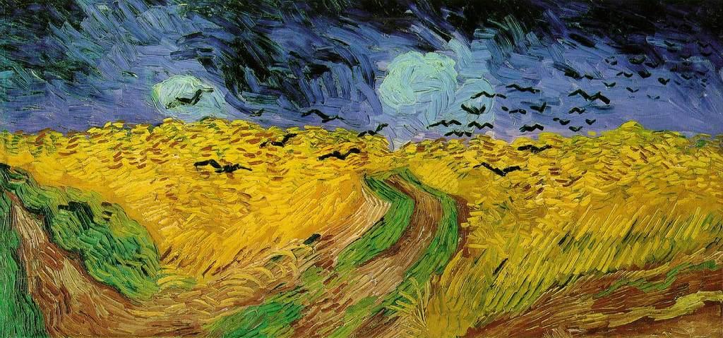 Gogh Threatening Skies