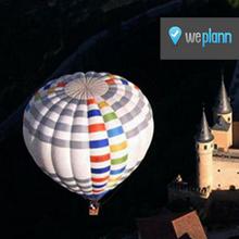 Sobrevuela Segovia en globo aerostático