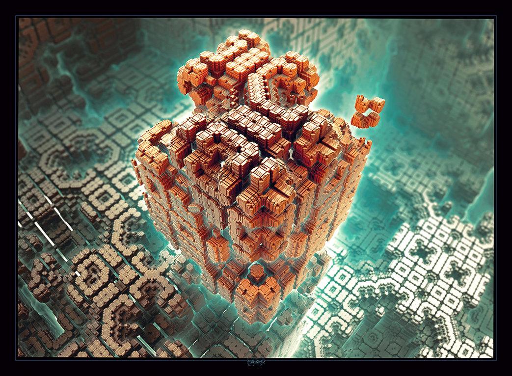 Intelligence Cube By Mehrdadart D5ryu2x