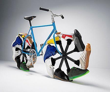 Bicicleta Original Rara Curiosa Divertida 20