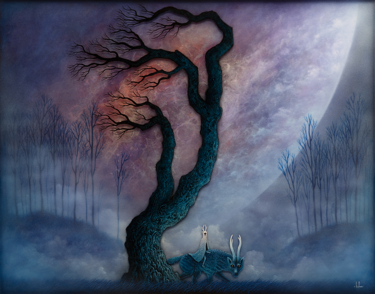 Andy Kehoefantastical Romanticism Jonathan Levine Gallery
