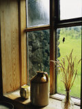 Sisse Brimberg Windowsill Of The Skogar Folk Museum In The Southern Part Of Iceland