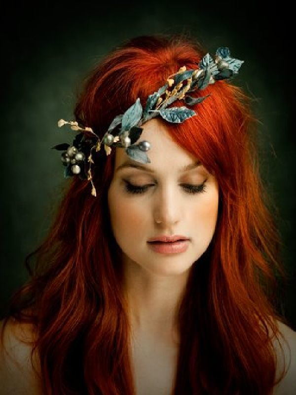 Ginger Hair Color Style For Hot Bride 04