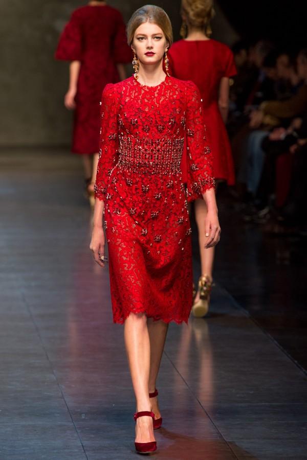 Dolce Gabbana Fall 2013 Rtw 64 600x900