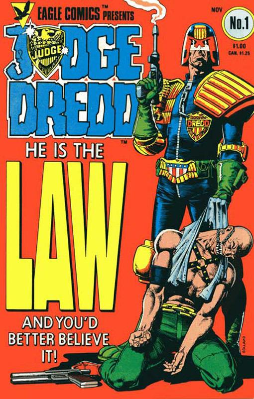 Portada 92 Juez Dredd
