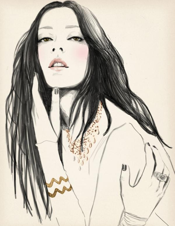 Sandra Suy Fashion Illustrations 15