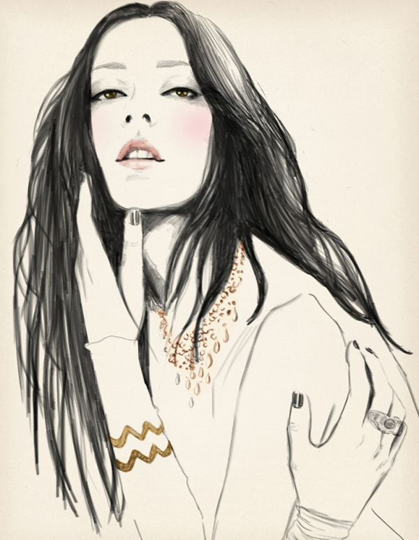 Sandra Suy Fashion Illustrations 15