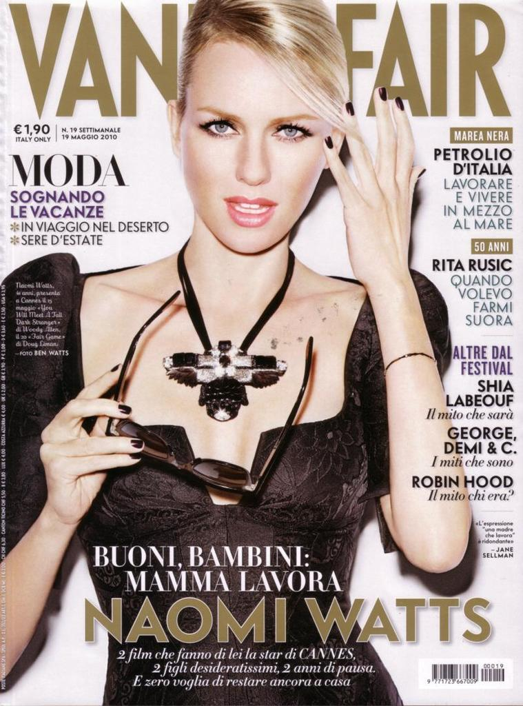 Naomi Watts Vanity Fair Cover