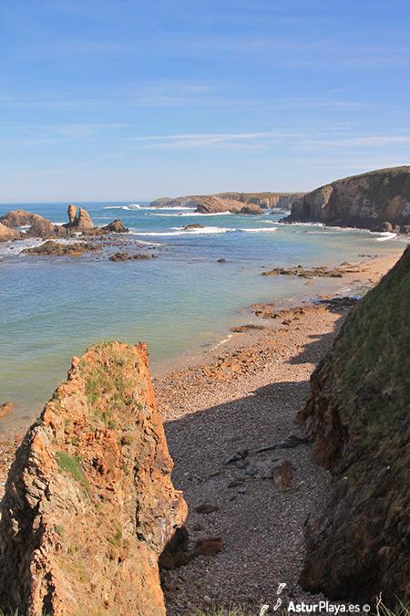 Represas Beach Asturias