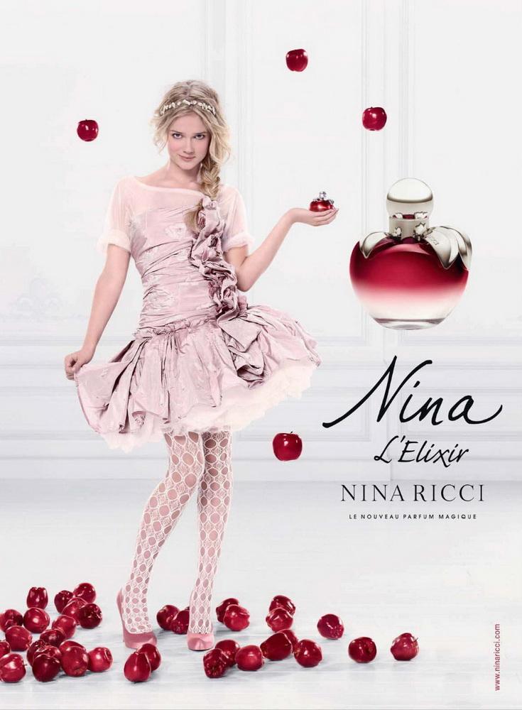 Publicite Fragrance Ninaelixir