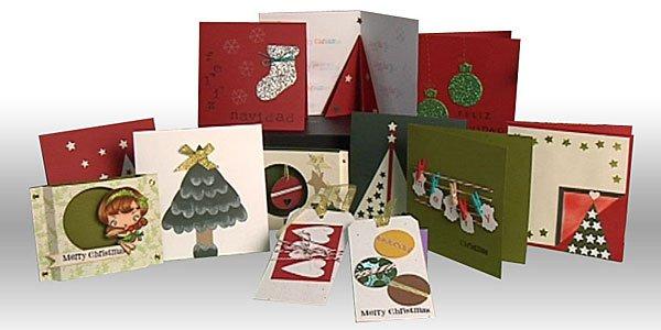 C mo hacer tarjetas navide as beqbe - Postales navidenas para hacer ...