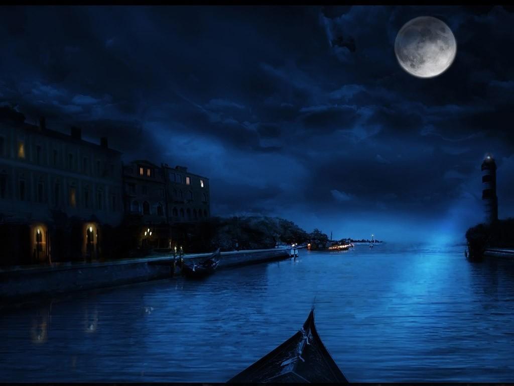 Luna Llena En Venecia