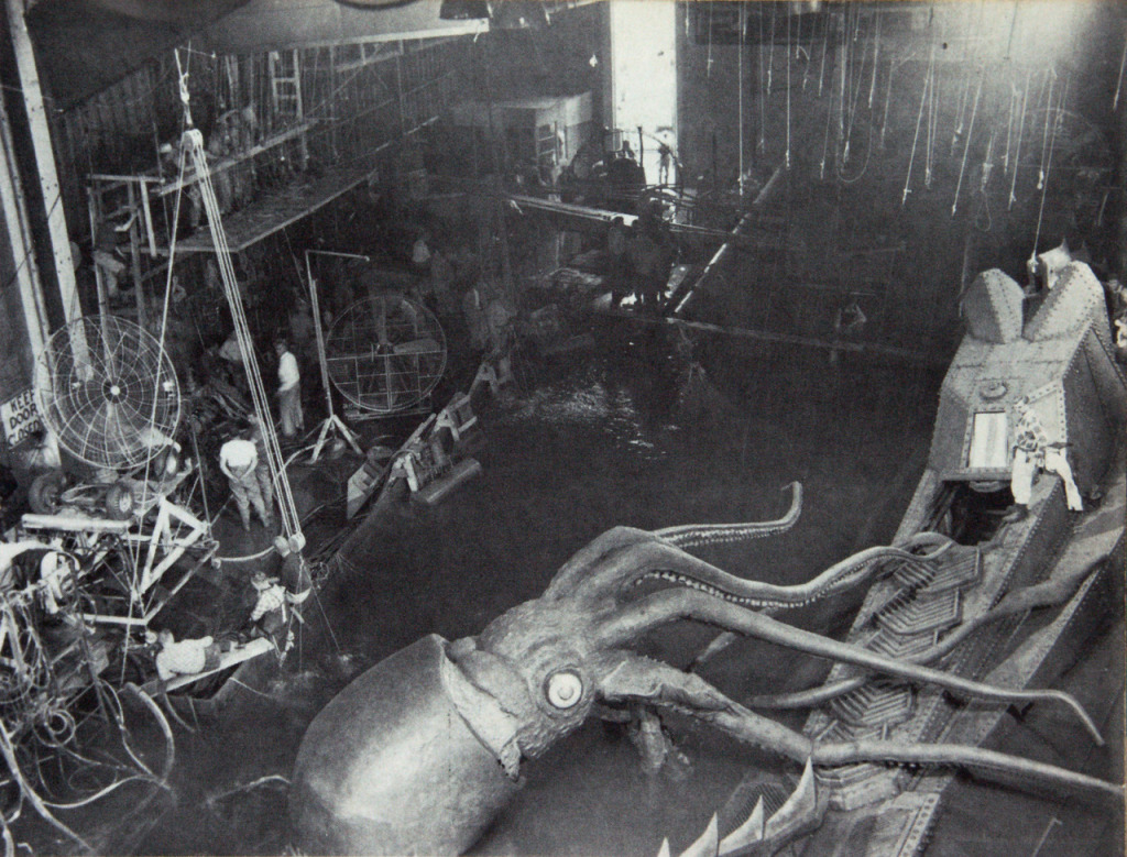 Shooting The Famous Octopus Scene From 20 000 Leagues Under The Sea 1954