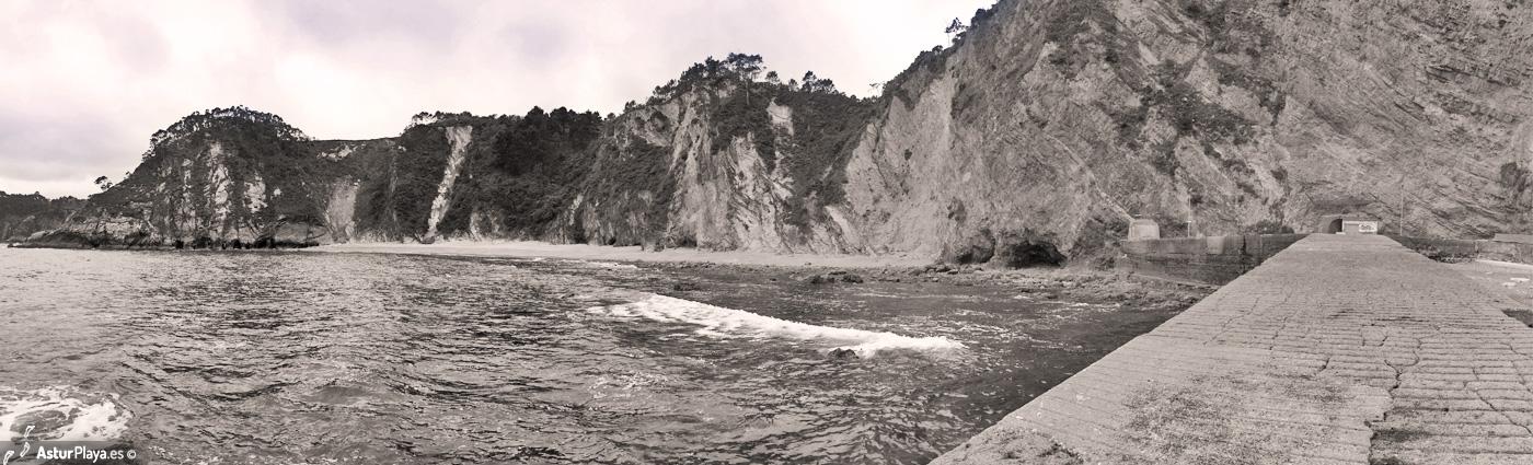 El Castrillon Beach Cudillero Asturias2