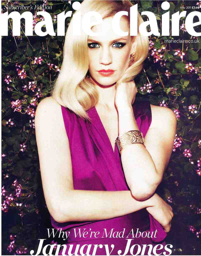 Marie Claire Front Cover May 2011
