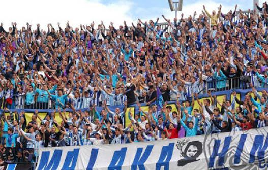 La Rosaleda. Real Málaga. (Malaka Hinchas)