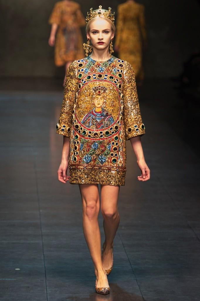 Dolce Gabbana Fall 2013 682x1024