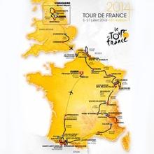 Etapas del Tour de Francia 2014