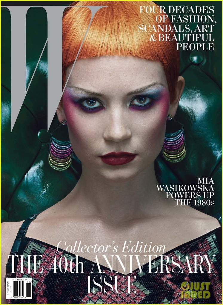 Scarlett Johansson W Magazine Cover 02