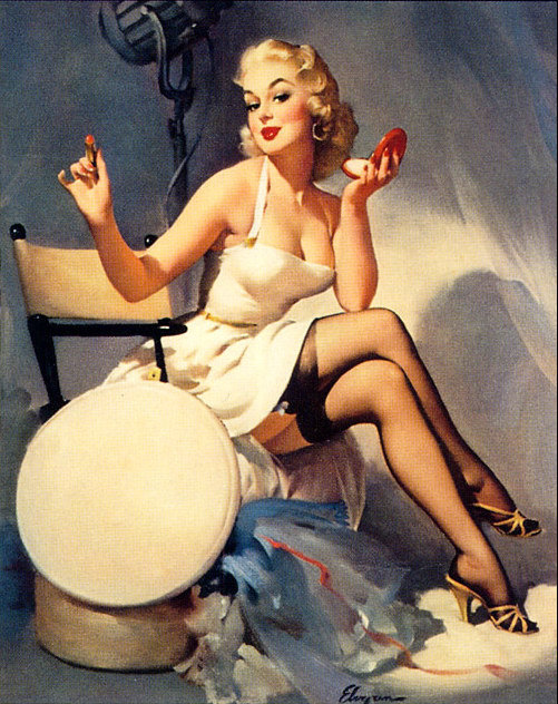All Set By Gil Elvgren 1956