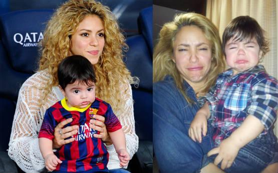Shakira Son Milan Gerard Pique Mimosos