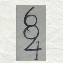 ¿Cuántos números ves en esta imagen?