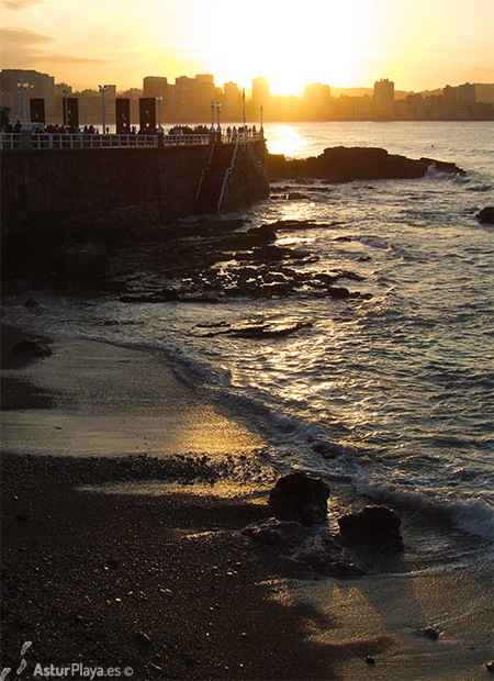 Mayanes Gijon Sunset Asturplaya