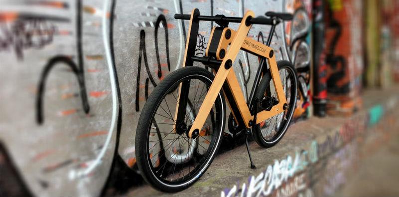 Sandwichbikes Bicicletas De Madera Exclusivas Diseno De Autor