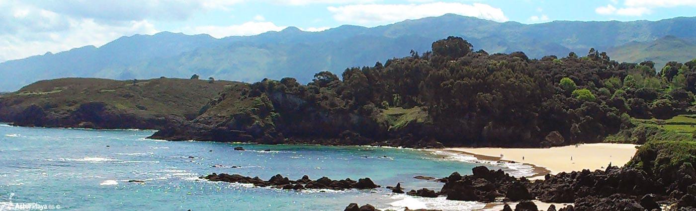 Toranda vista desde las playas de Valle y Sovalle