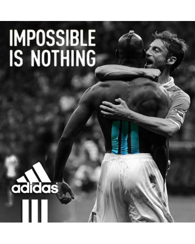 """20. """"Imposssible is nothing"""". Adidas"""