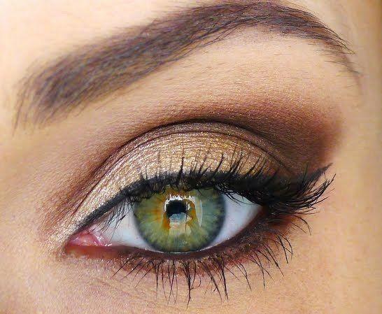 Como Maquillar Ojos Verdes Utiliza Tonos Cobre