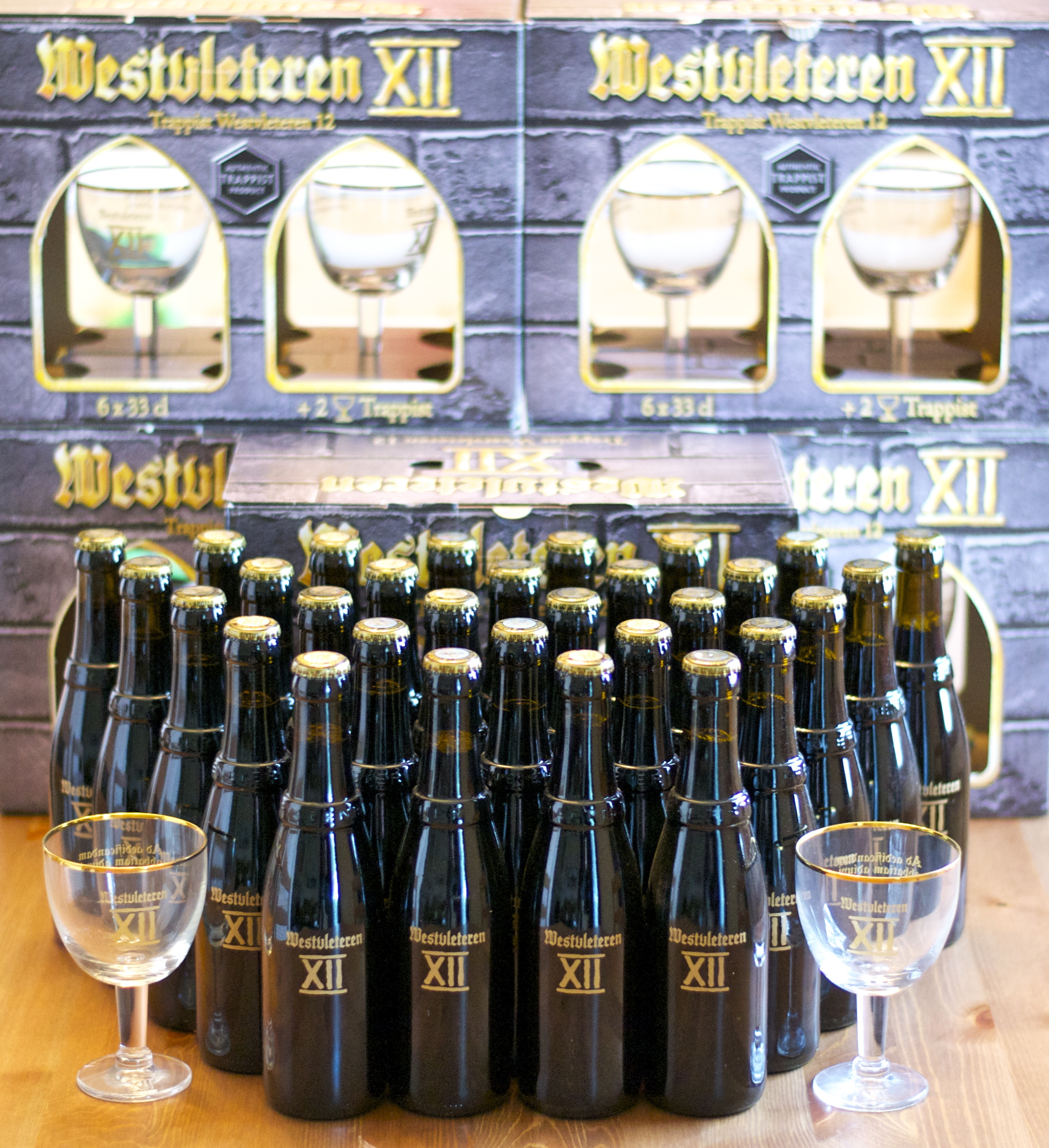 Thirty Bottles Of Westvleteren Xii With Gift Packaging